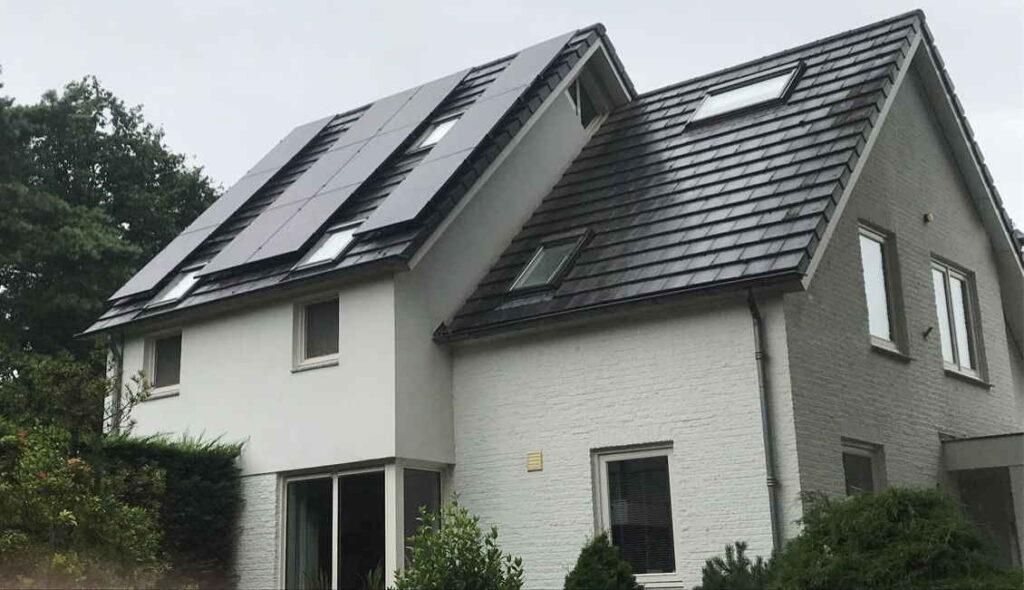 Particulieren woningen met zonnepanelen